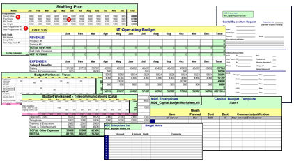 IT budget templates make budgeting easier, , , plus a special
