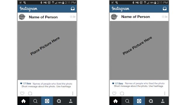 Instagram Template Editable Version Included | Srta Spanish Store