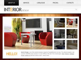 Interior Design Free Website Template | Free CSS Templates | Free CSS