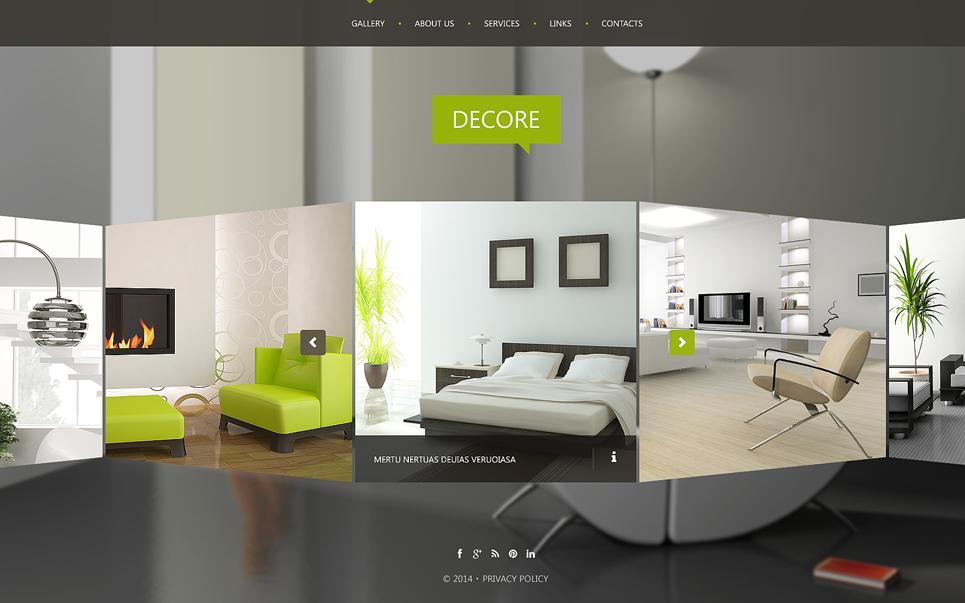 interior design website templates Melo.in tandem.co