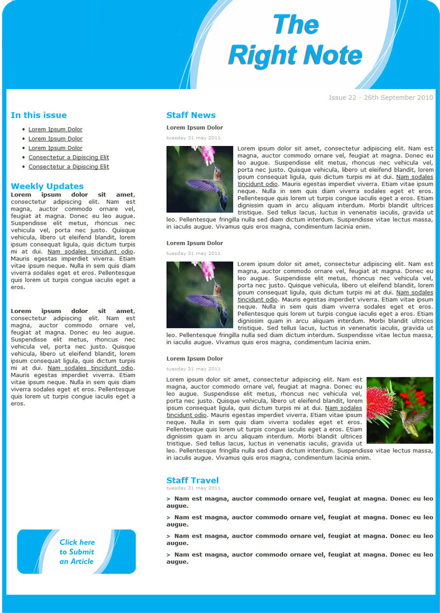 Employee Newletter Expinmedialab Co Preschool Newsletter Template