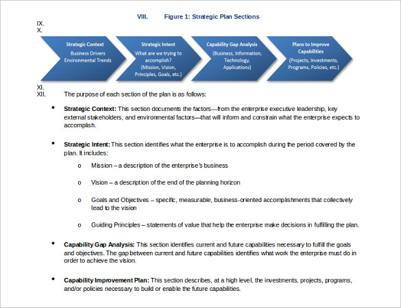 strategic planning proposal template strategic proposal template