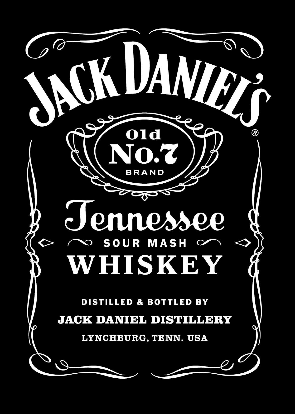Jack Daniels Label Template | aesthetecurator.com