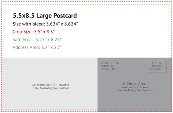 Postcard Template 47+ Free Printable Word, Excel, PDF, PSD