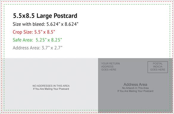 Postcard Template 47+ Free Printable Word, Excel, PDF, PSD