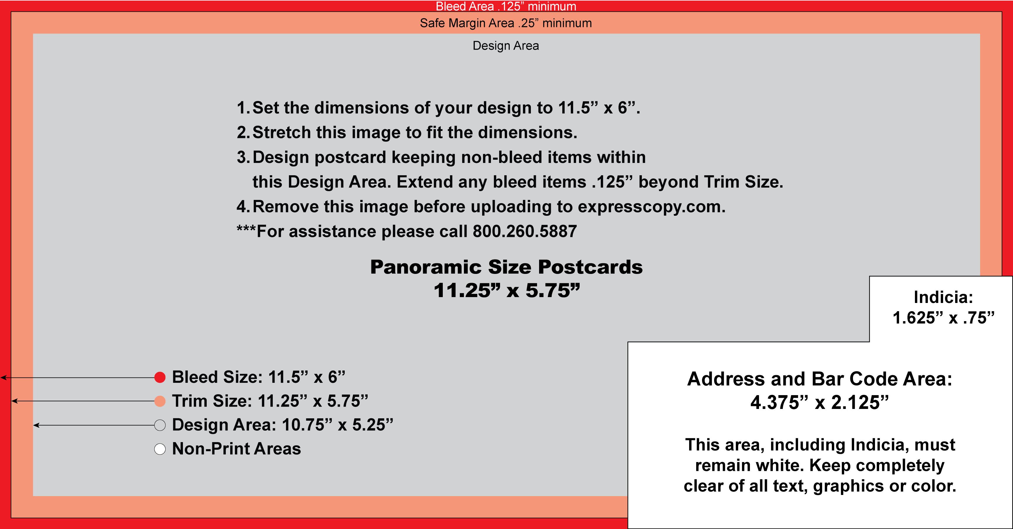 Postcard Specifications & Postcard Postal Regulations