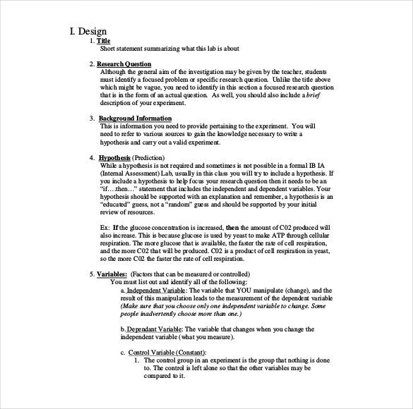 word lab report template Toma.daretodonate.co