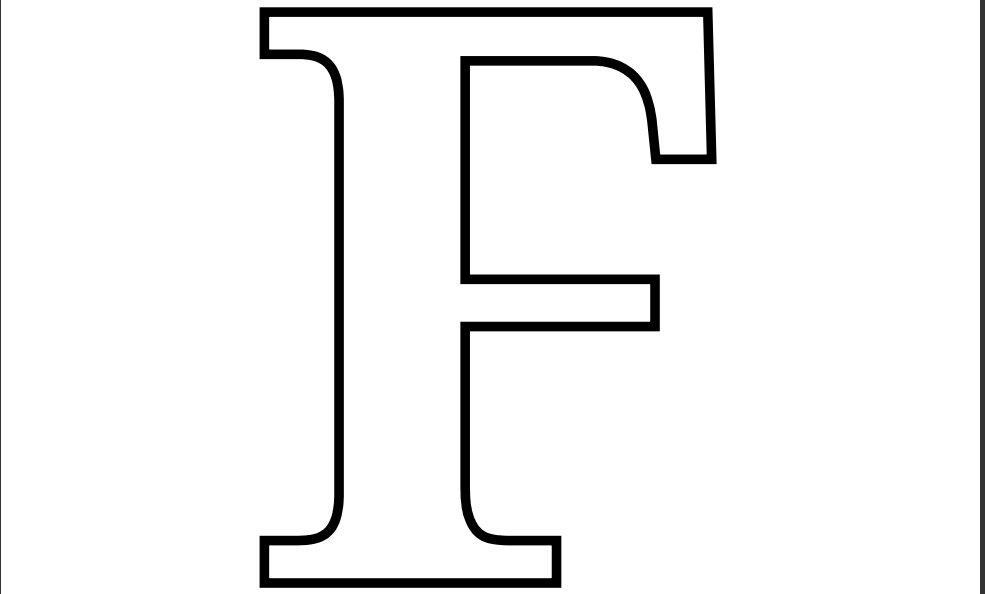 28 Images of Printable Alphabet Letter F Template | leseriail.com