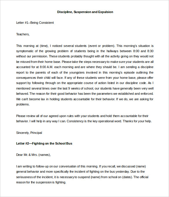 letters to parents template Melo.in tandem.co