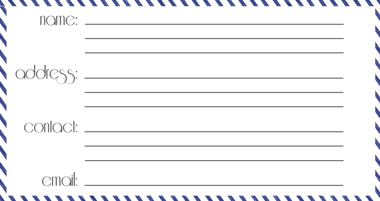 Luggage Tag Template | | tryprodermagenix.org