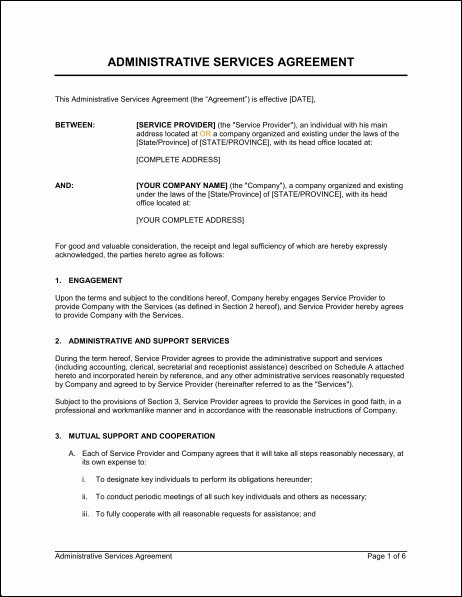 it managed services agreement template payroll services agreement