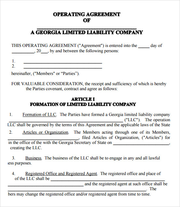 manager managed llc operating agreement template manager managed