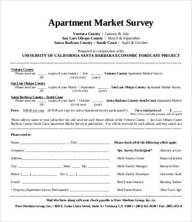 Market Survey Template 11+ Free Word, PDF Documents Download