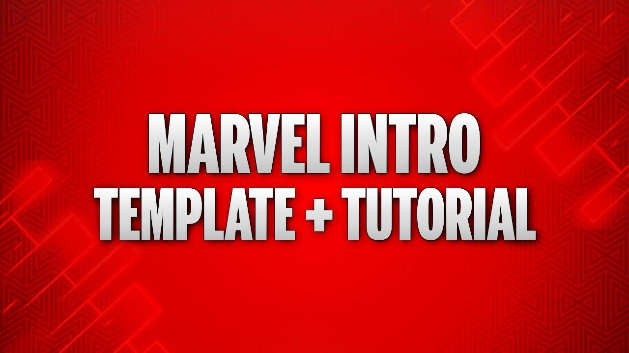 Marvel Intro Tutorial + Template | Hindi/Urdu YouTube