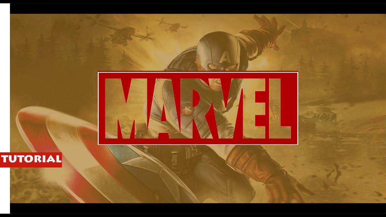 Marvel intro template sony vegas Sony Vegas pro 13 Tutorial
