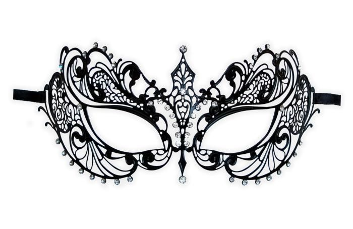 Intricate Masquerade Mask Template