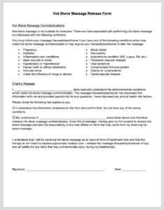 Massage Membership Contract Template | direnisteyiz3.org