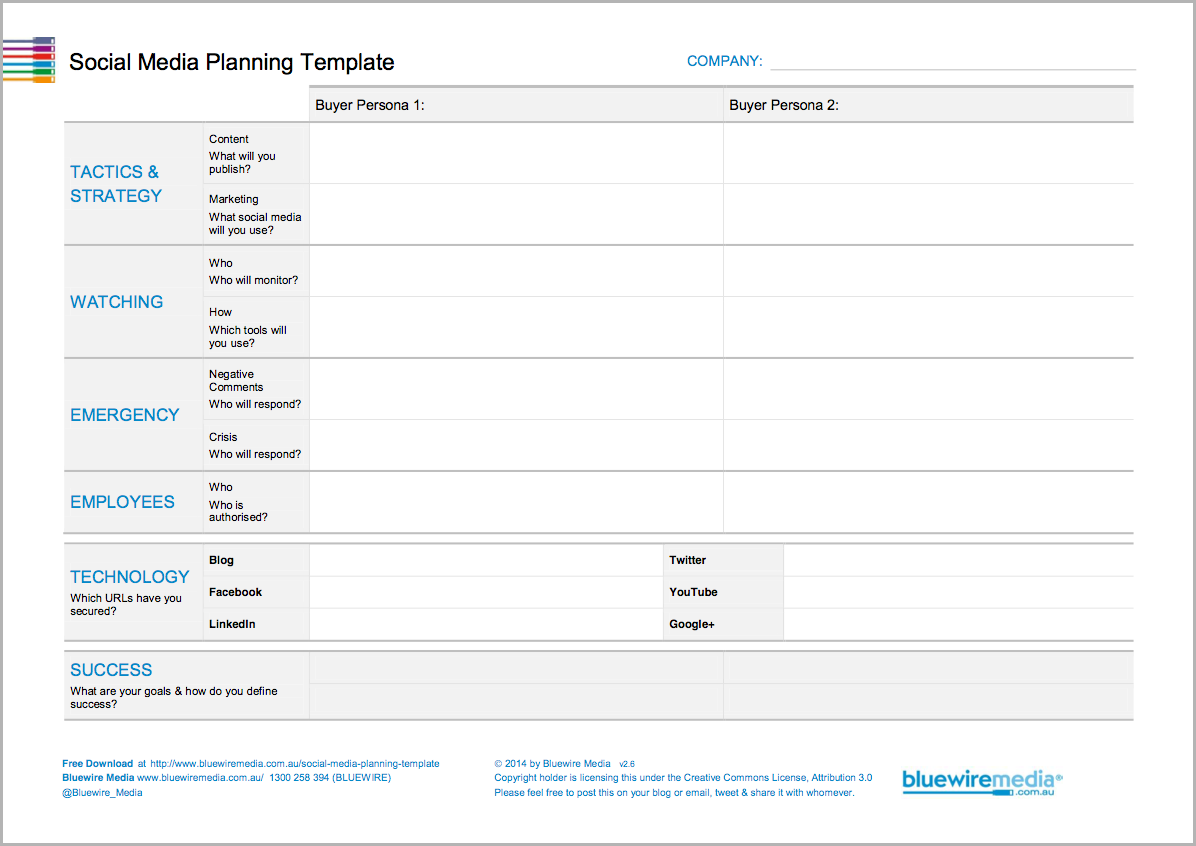 media plan templates Melo.in tandem.co