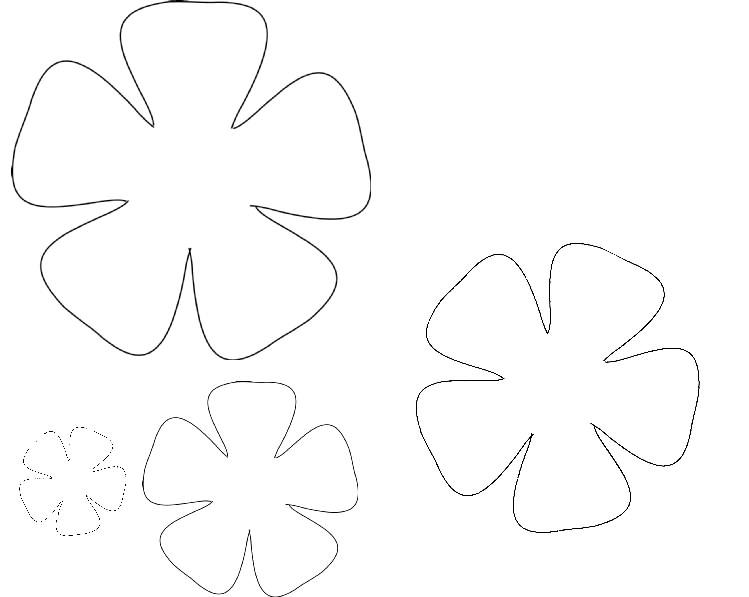 rose petal template Kleo.beachfix.co