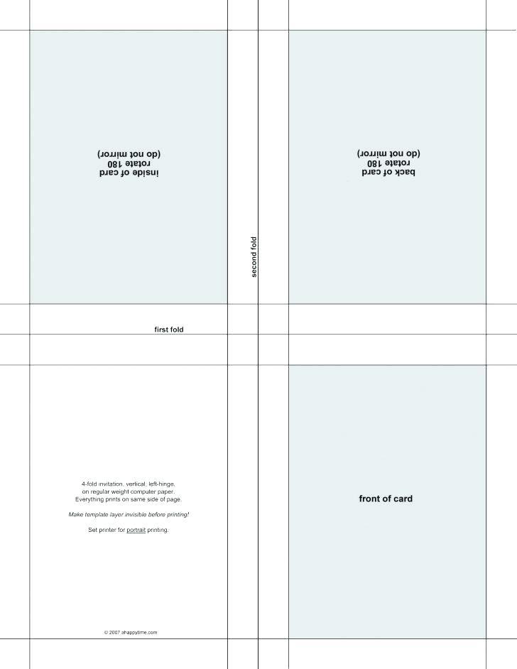 Ms Word Postcard Template Sheet
