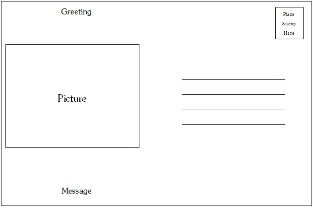 how to make postcards in word April.onthemarch.co