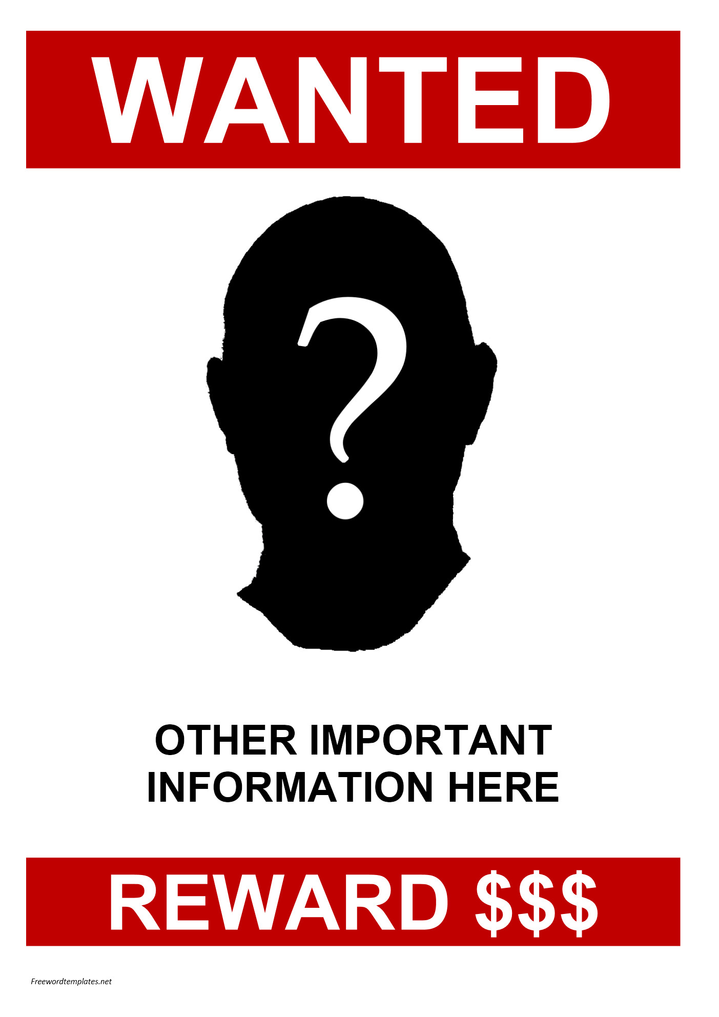 Missing person poster template 2 images Download this Missing