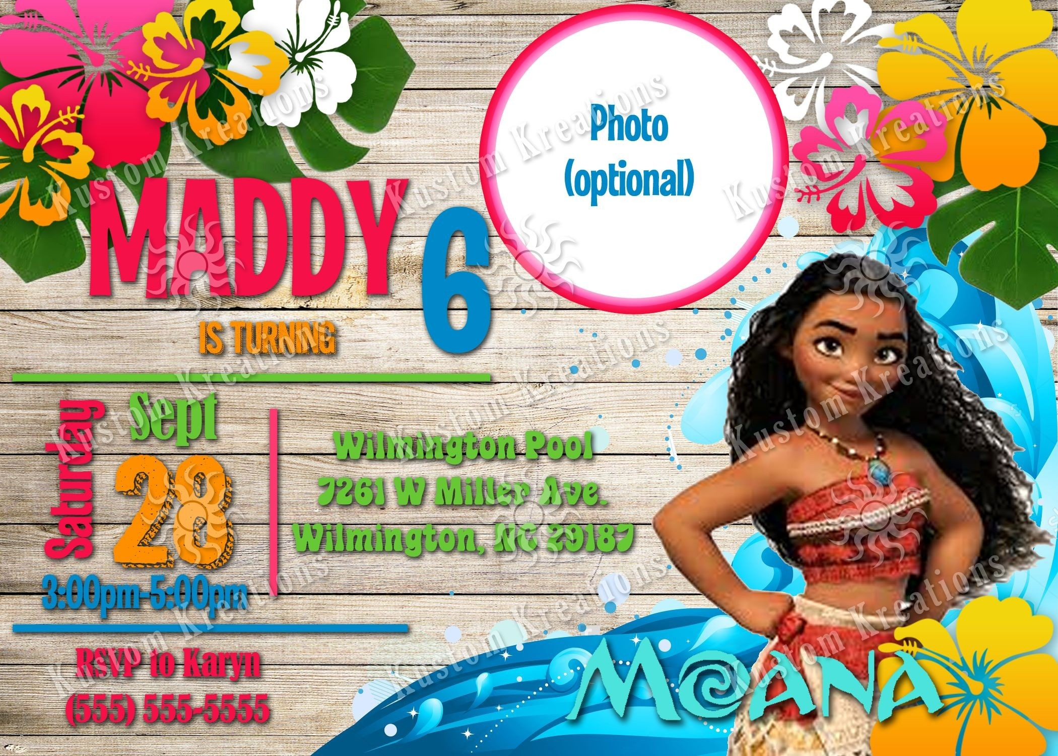 Avengers Birthday Invite Template Best Of Moana Birthday