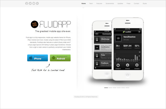 27+ App Developers Website Themes & Templates | Free & Premium