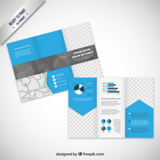 Brochure template in modern style Vector | Free Download