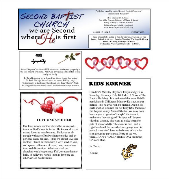 Monthly Class Newsletter Templates by Mrs. Ricca's Kindergarten | TpT
