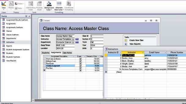 ms access database templates Melo.in tandem.co