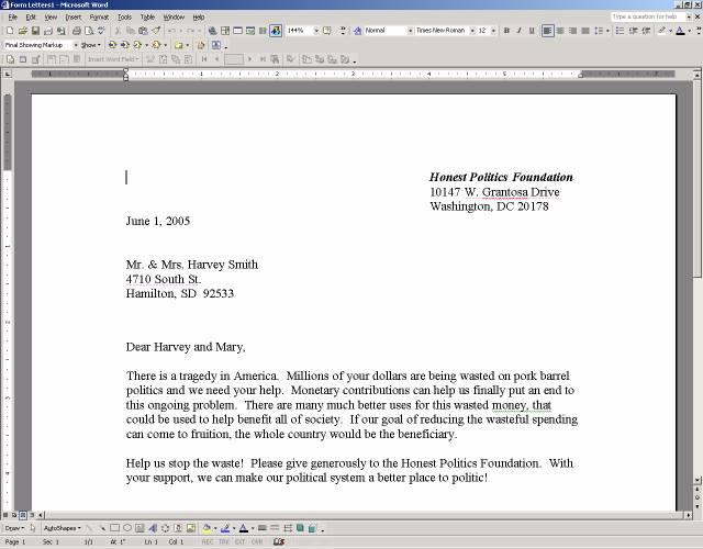 Microsoft Word::Acrobat Tab