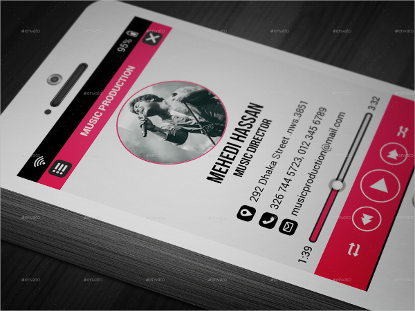 music business card template 21 music business cards free psd ai