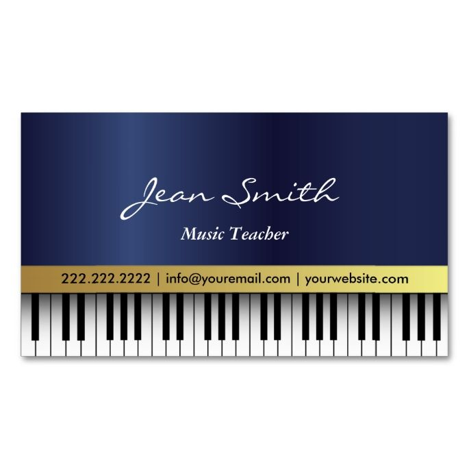 Free Musician Business Cards | Zokidesign