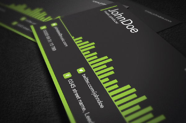 21+ Music Business Cards Free PSD, AI, Vector, EPS Format