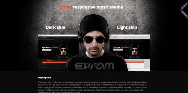 15 Best HTML Music Website Templates | Code Geekz