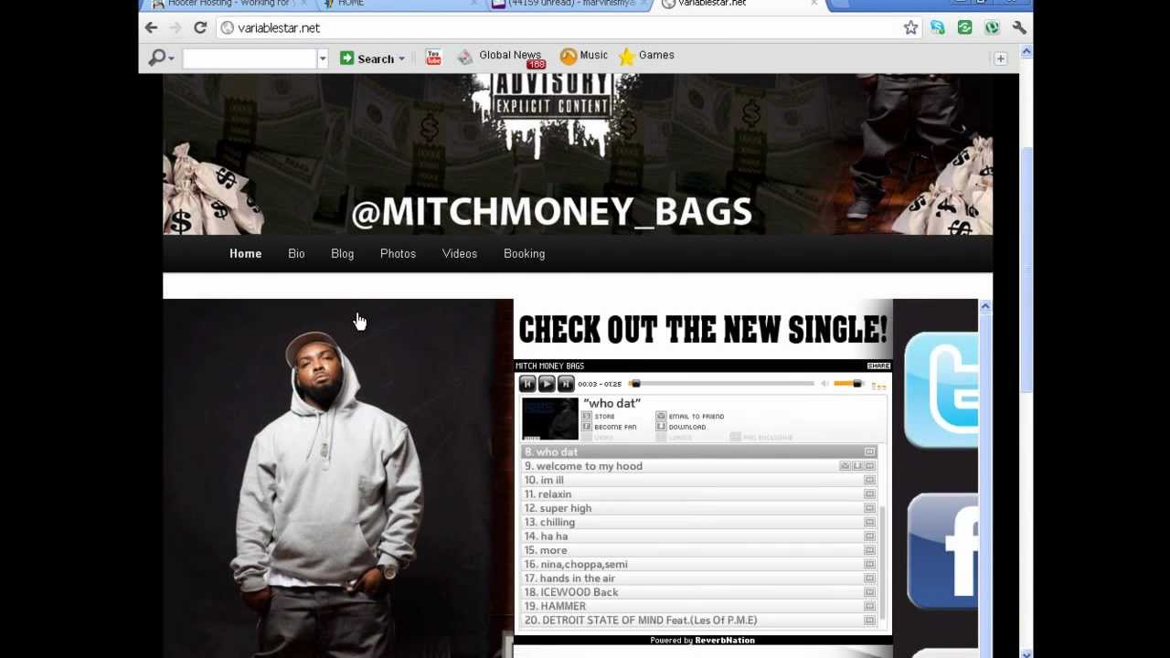 How To Build Artist/Producer Type Websites To Promote Music, Sell
