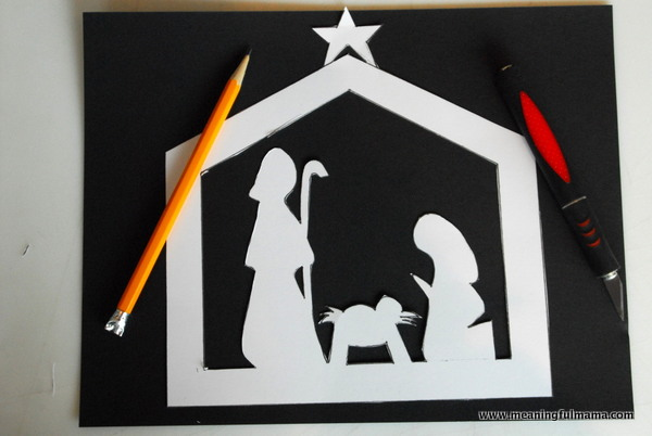 Nativity Scene Silhouette Template at GetDrawings.| Free for