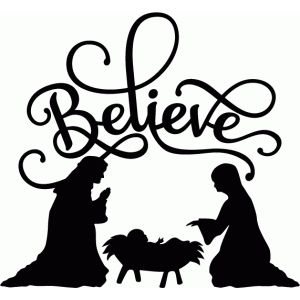 nativity silhouette template printable Archives Southbay Robot