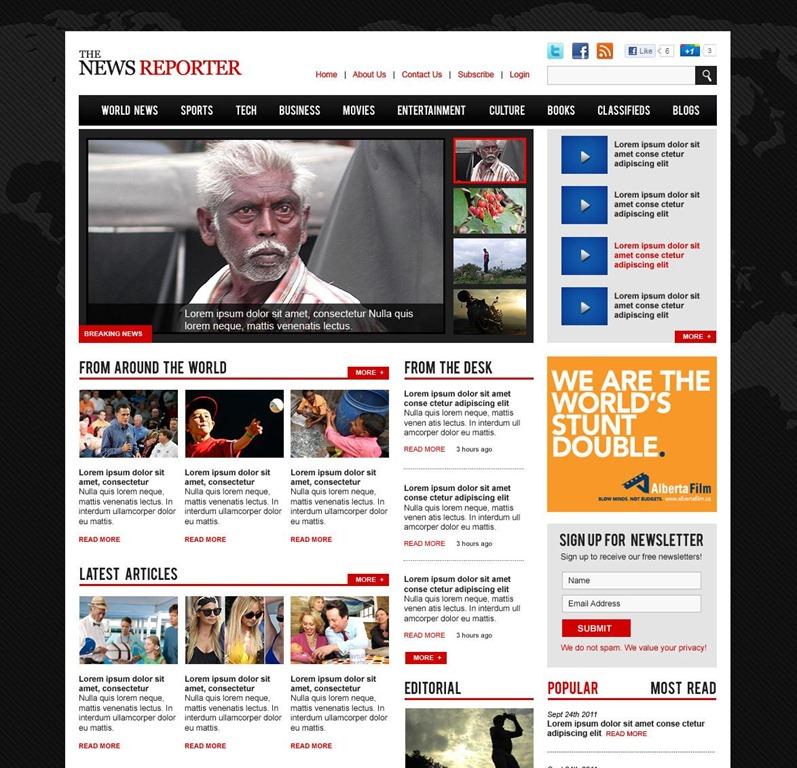 business news website template news website templates business