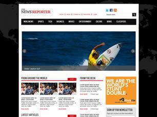 Free News Website Templates (43) | Free CSS