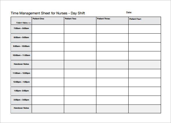 5+ Nursing Schedule Templates DOC, Excel, PDF   Free & Premium