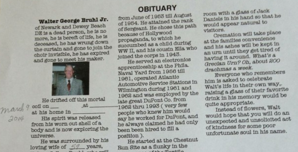 funny obituary examples Melo.in tandem.co
