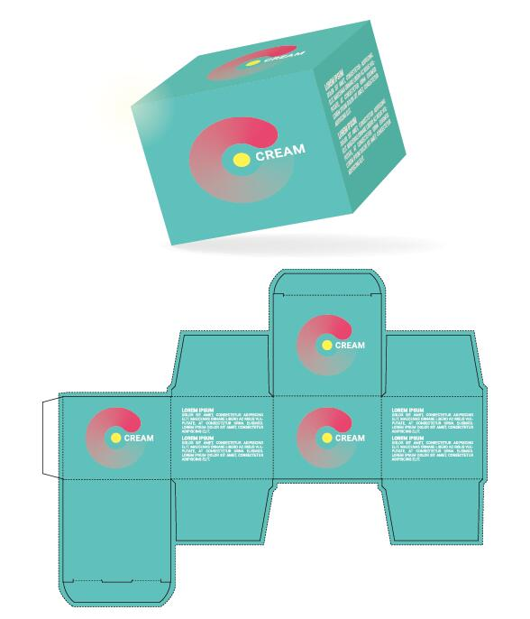 Software Box Template Volpe Packaging Packaging Templates JaLevy