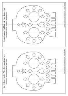 graphic regarding Papel Picado Templates Printable called Papel Picado Template Pdf