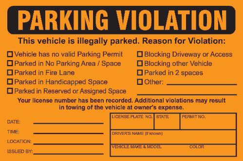 parking ticket Google Search | Pranks | Pinterest | Ticket template