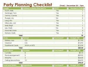 party planning list template Melo.in tandem.co