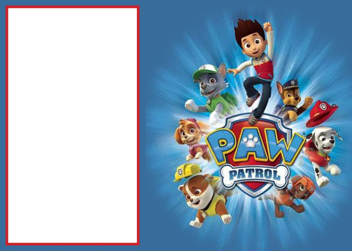 Paw Patrol Invitations Sure Success Sample Format Of Paw Patrol