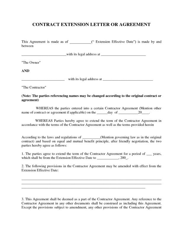 Agreement Letter Between Two Parties | beneficialholdings.info