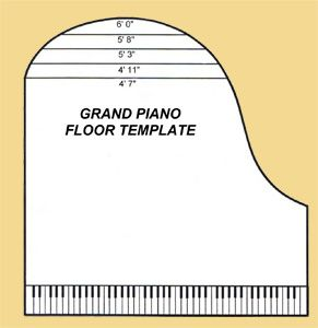 Baby Grand Piano Template   Use the all new, all in one, Grand